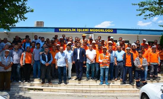 Siverek'te temizlik işleri personeliyle toplantı yapıldı