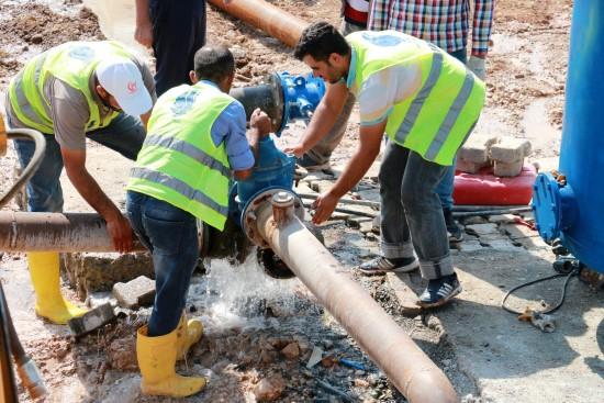 ŞUSKİ Akçakale'de kalıcı çözüm üretiyor