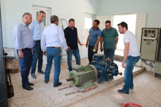ŞUSKİ, Ceylanpınar'daki alt yapı ihtiyaçlarını tespit ediyor