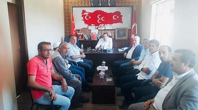 Vatandaşlar MHP'ye sorunlarını ilettiler