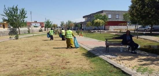 Viranşehir'de temizlik ve bakım çalışmaları