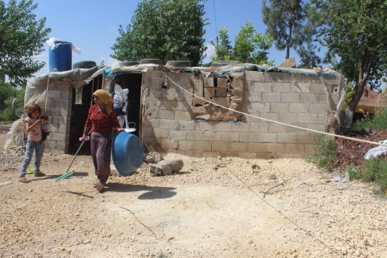 Zor durumdaki aileye devletin şefkat eli uzandı