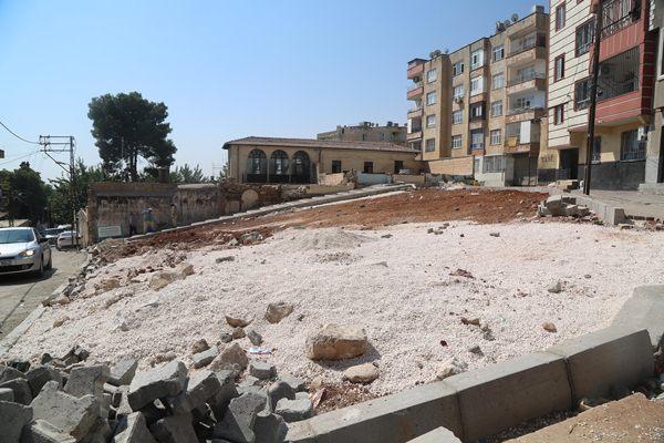 Atatürk mahallesindeki park yapımında sona gelindi