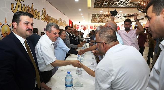 Beyazgül, AK Parti bayramlaşmasına katıldı