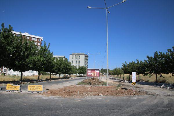 Büyükşehir'den standart cadde uygulaması