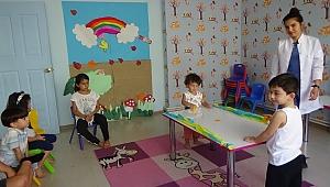 Çocuklara her şeyi yaşayarak öğrenme tarzını sunuyoruz