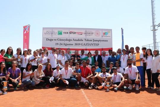 Doğu Ligi Tenis Şampiyonası sona erdi