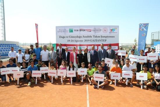 Doğu ve Güneydoğu Anadolu Takım Şampiyonası başladı