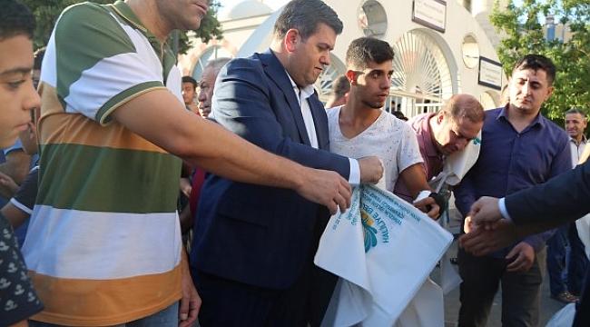 Haliliye Belediyesi, 50 Bin Adet Kurban Atık Poşeti Dağıttı