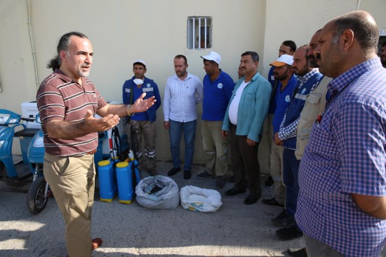 Haliliye belediyesi, kurban bayramına hazır