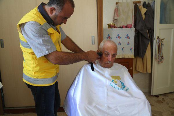 Haliliye belediyesi, yaşlıları unutmadı
