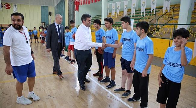 Haliliye Belediyesinden gençlere spor imkanı (Video)