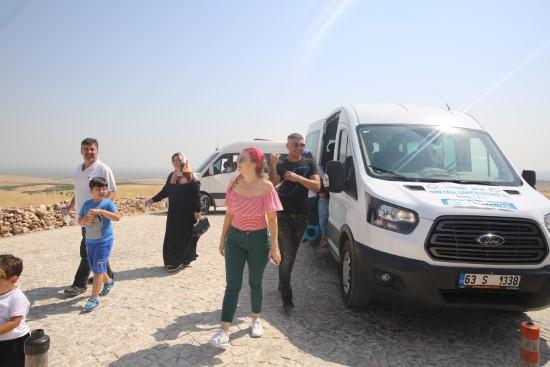 Haliliye belediyesinden, Göbeklitepe'ye araç desteği