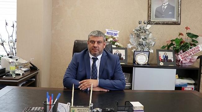 Meclis Başkanı Ahmet Altun Kurban Bayramı'nı Kutladı