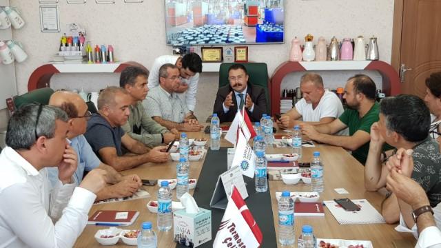 OSB Müdürü Aksu ZÜCDER'e teşvikleri anlattı