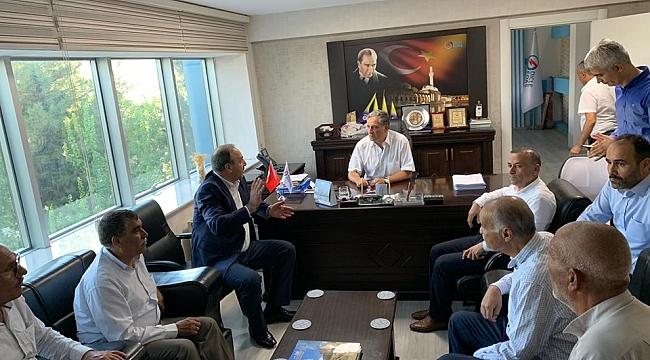 Özcan'dan TEDAŞ İl Müdürü Hodu'ya ziyaret