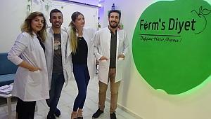 Sağlıklı beslenmek isteyenleri Şanlıurfa'da Ferm's Diyet Ailesine bekliyoruz.