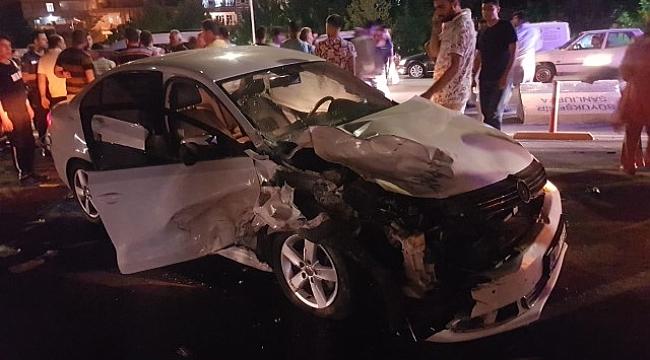 Şanlıurfa'da trafik kazası :1 ölü, 1 yaralı