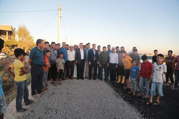 Şanlıurfa kırsalı Büyükşehir'le hizmete kavuşuyor