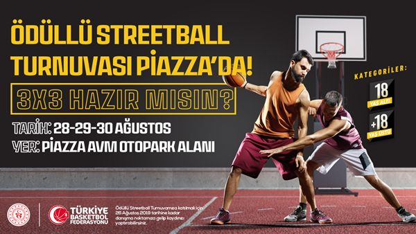 Şanlıurfa Piazza'da Streetball Turnuvası