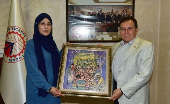 Şanlıurfa - Trabzon dostluğu girişimci kadınlarla büyüyecek