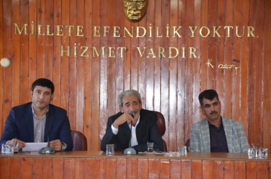 Siverek'te Ağustos Ayı meclis toplantısı tamamlandı