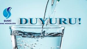 Su borcunu ödemeyenin su kesiliyor