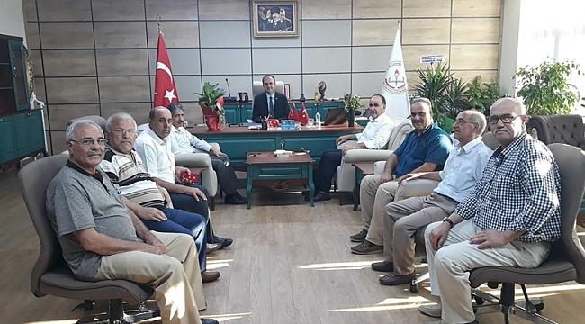 Türk-Eğitim Sen'den Yapıcıer'e ziyaret