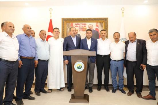 Vekil Halil Özcan, Özyavuz'u ziyaret etti