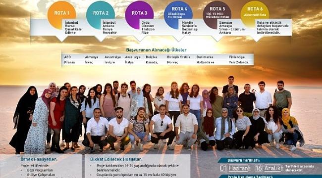 Yurt dışındaki gençler Urfa'da Göbeklitepeyi ziyaret edecek