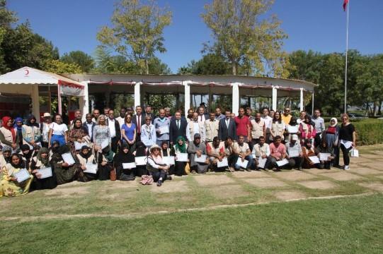 FAO, sebzecilik eğitimine katılanlara sertifika verdi