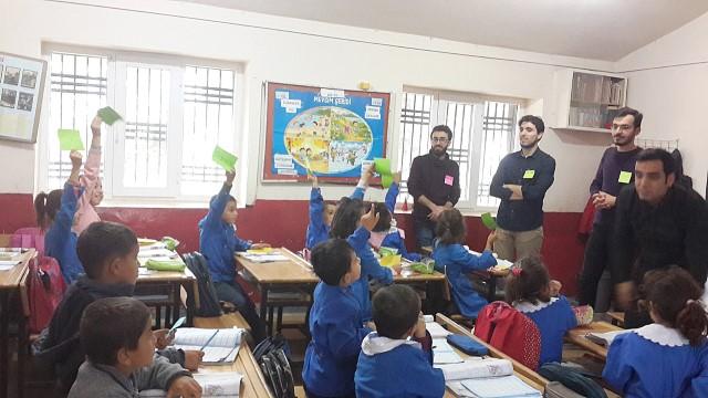 HRÜ, Okullarda Beslenme ve Hijyen Konularında İnteraktif Eğitimler Verdi