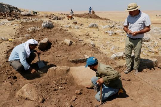 Karahantepe'de kazı heyecanı