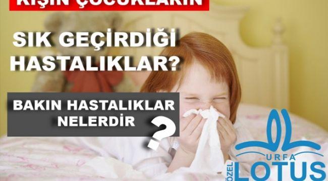 Kışın Gelmesiyle Çocuklarda Görülen Kış Hastalıklarına Dikkat!