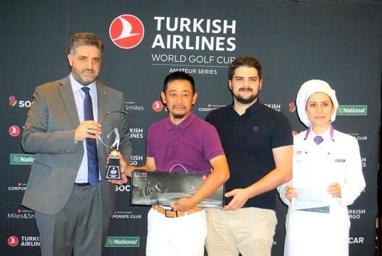 Önen'den THY Dünya Golf Kupası 2019 şampiyonlarına ödül