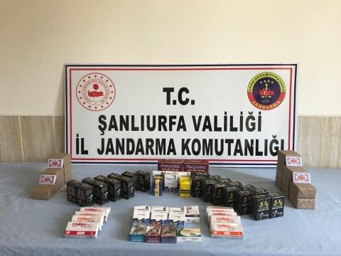 Şanlıurfa'da kaçakçılık operasyonu