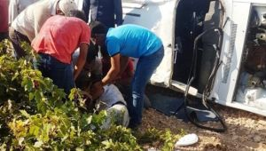 Şanlıurfa'da otomobil devrildi: 1 ölü