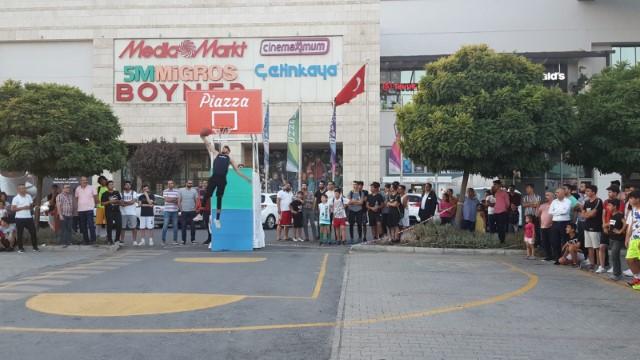 Şanlıurfa'da Sokak basketbolu rüzgarı