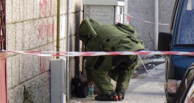 Suruç'ta yol kenarında bulunan patlayıcı imha edildi