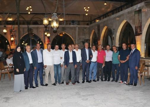 ŞUTSO meclis üyeleri yemekte bir araya geldi