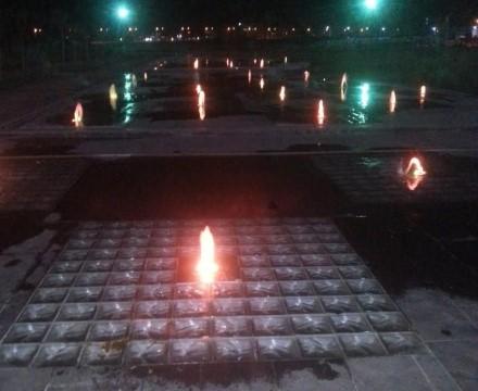 Viranşehir rekreasyon alanı ışık saçıyor