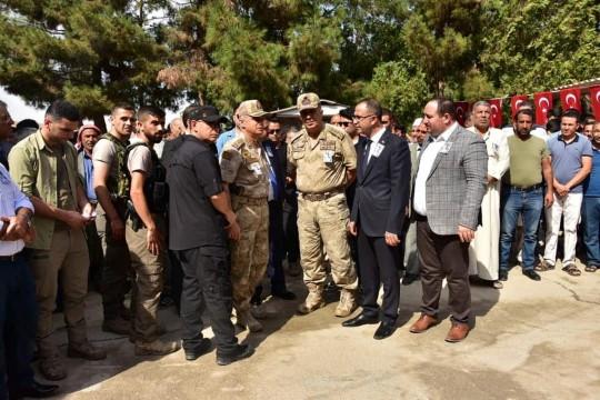 Başkan Ekinci Saldırıda Yaşamını Yitiren Elif Terim'in Cenaze Törenine Katıldı