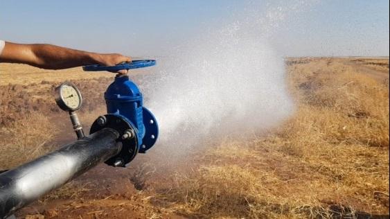 Ceylanpınar'da 191 bin dekar arazi suya kavuşacak