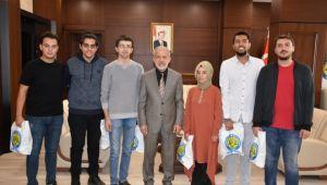 HRÜ öğrencileri ödül aldı
