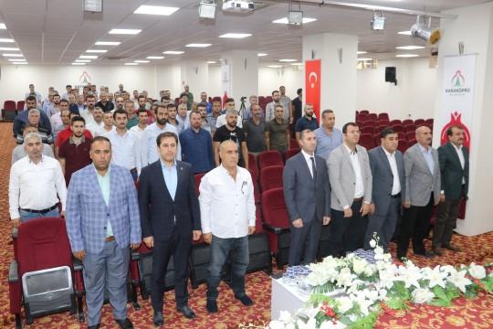 Karaköprü Belediyespor yönetimi güven tazeledi