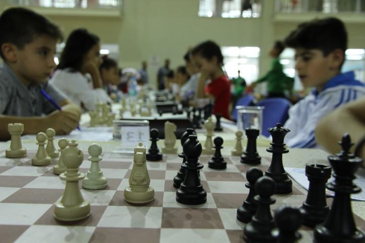 Kızıltepe'de Cumhuriyet Bayramı için satranç turnuvası düzenlendi