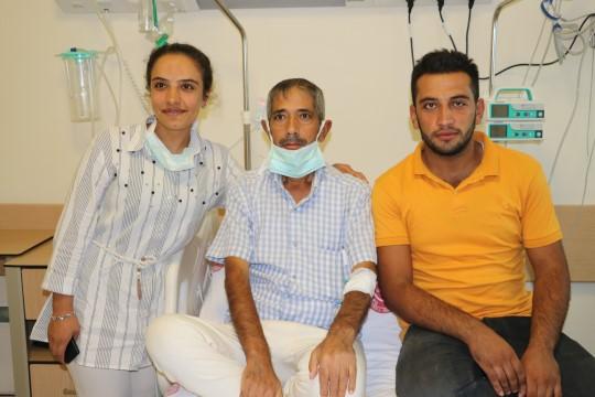 Kızının karaciğeriyle hayata tutundu