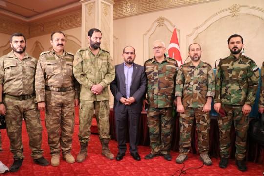 ÖSO mensupları Milli Ordu adı altında birleşti