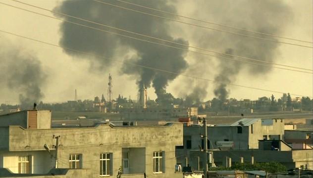 Resulayn'da terör hedefleri yoğun ateş altında