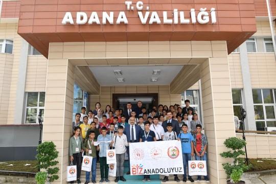 Şanlıurfalı öğrenciler Adana'da